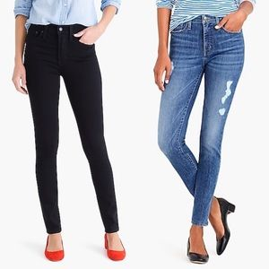 NWOT J Crew High Rise Mercantile Jeans Bundle